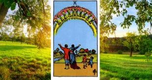 Carta Tarot Diez de Copas - Arcanos Menores– Significado