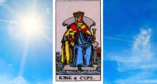 Carta Tarot Rey de Copas - Arcanos Menores– Significado