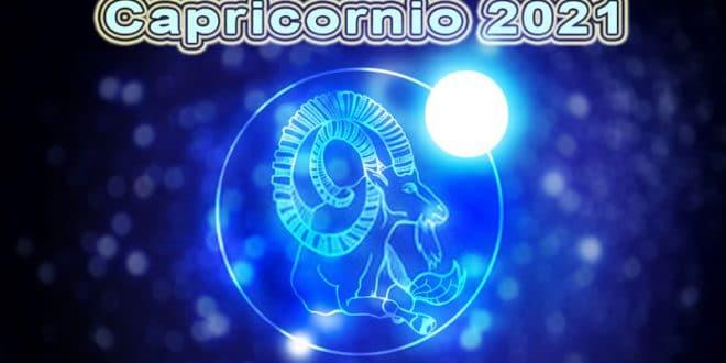 Horóscopo Capricornio 2021