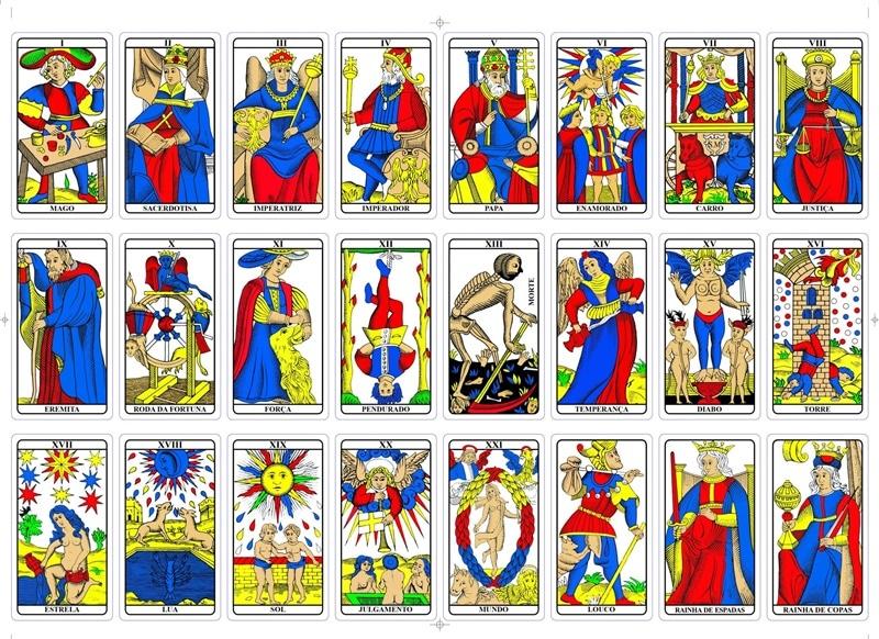 Cartas del Tarot de Marsella - Tarot Interactivo Gratis